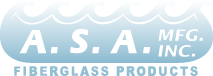 A.S.A. MFG. INC. Fiberglass Products