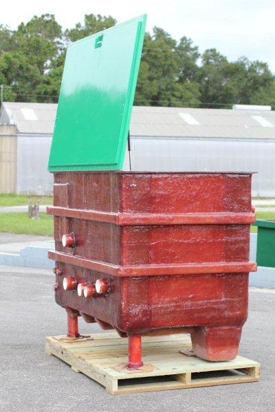 Fiberglass Equipment Vault with Pedestrian Lid