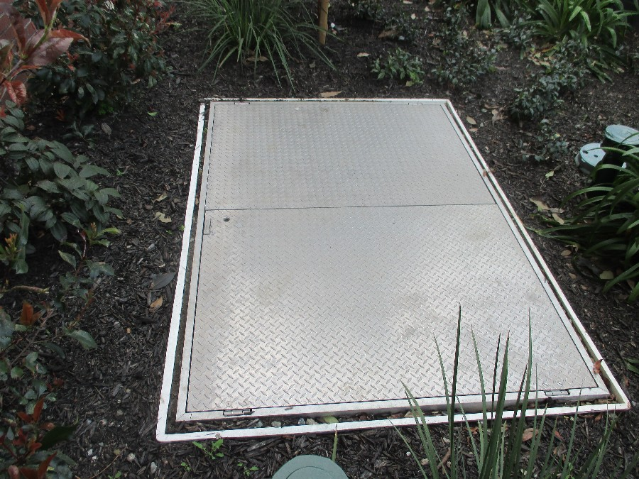 ASA MFG Aluminum Hatch Cover Equipment Vault