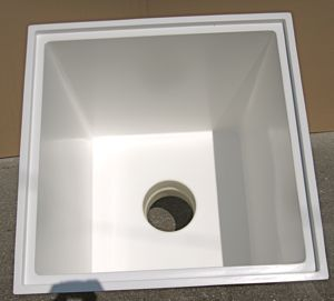 Backwash Sump Gelcoat Finish
