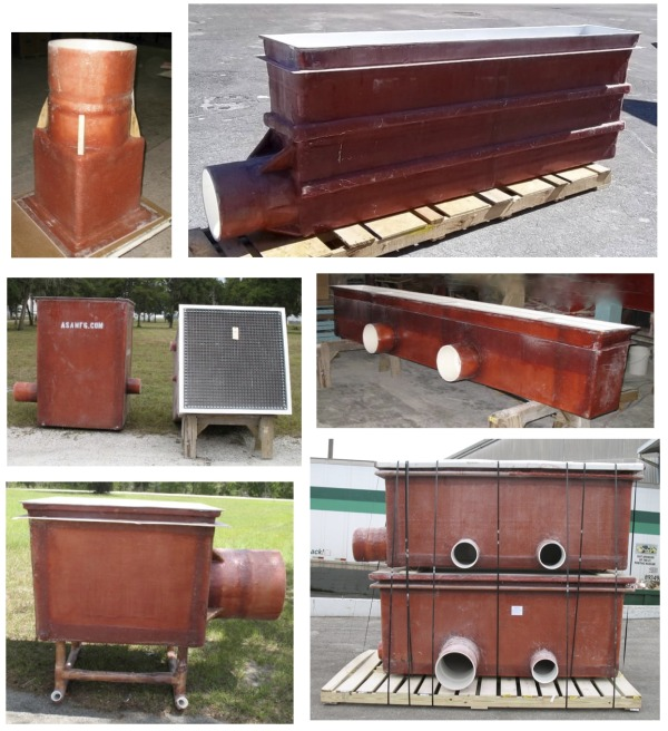 Fiberglass Tanks and Sumps ASA MFG Inc