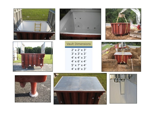 Fiberglass Equipment Cover Photos